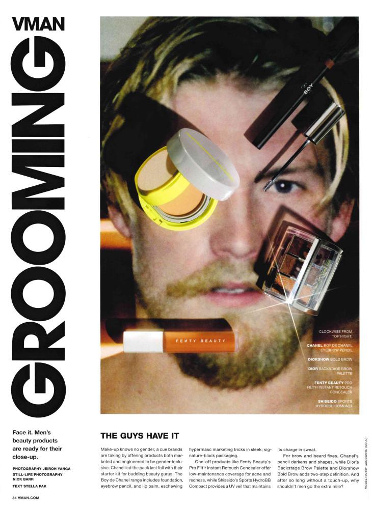 Harry Goodwins in VMan Magazine by Jeiroh Yanga