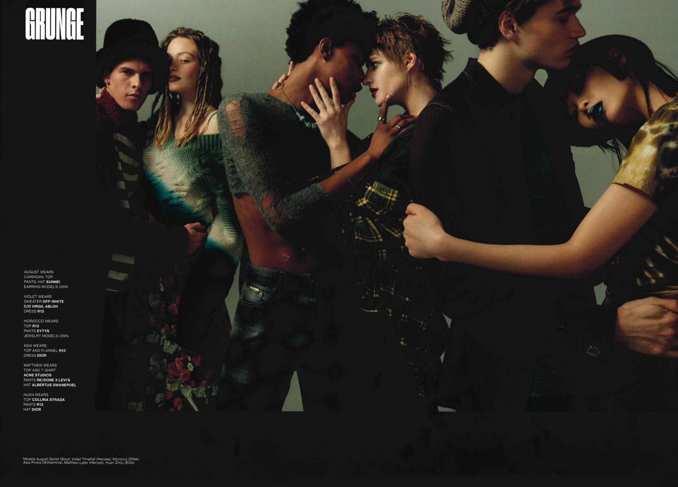 August Gonet & Jonny Brown for V Magazine
