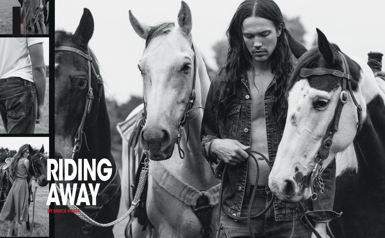 Our Handsome Matthew Sinnaeve for Icon Magazine Photographed by Bruce Weber