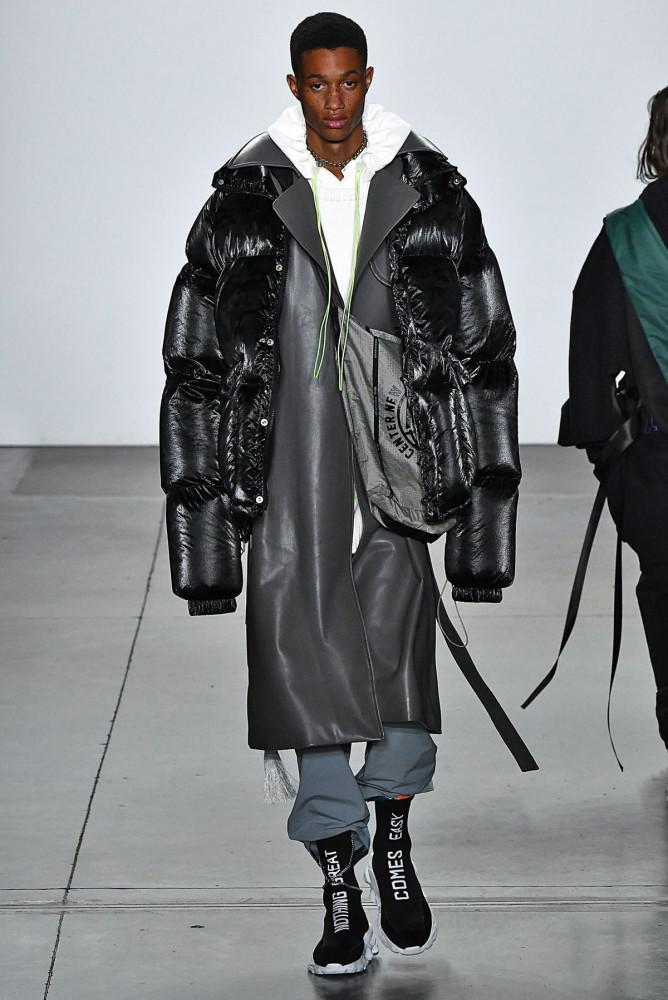 Romaine Dixon walks for NPC (ReadyToWear) Fall/Winter'19 Collection in N.Y.