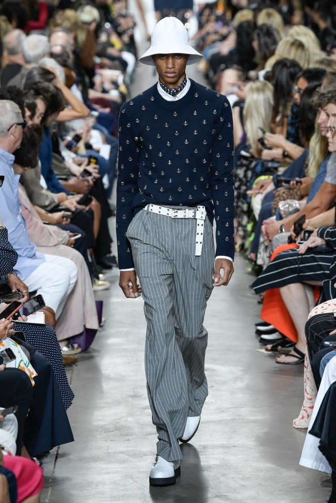 Romaine Dixon walks for Michael Kors SS20 RTW Collection in New York