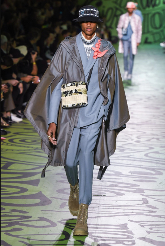 Soul Boys walks for DIOR Men's Pre Fall 2020 Fashion Runway in HOT MIAMI!!