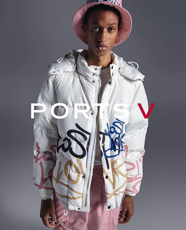 Romaine Dixon for PORTSV Campaign by Milan Vukmirovic