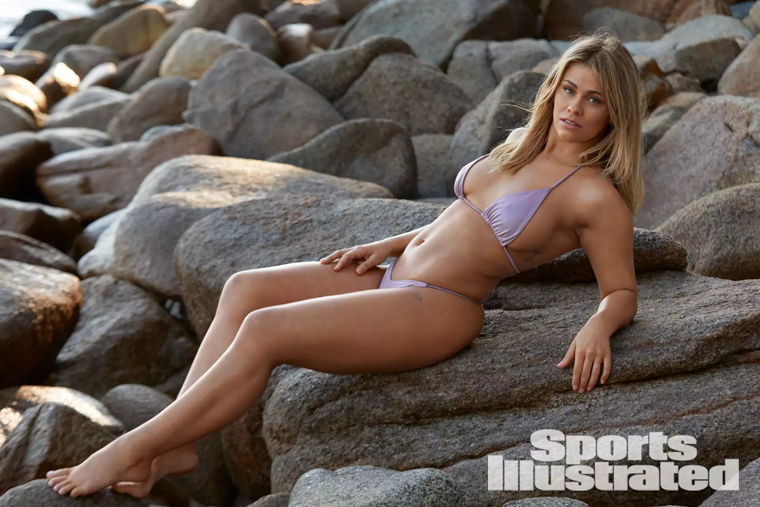 Paige VanZant featured in Sports Swim'19 Illustrated Magazine by Walter Chin