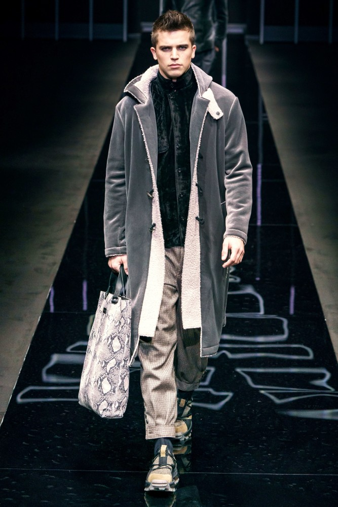 Emporio Armani Fall/Winter'19 Runway Collection in Milan