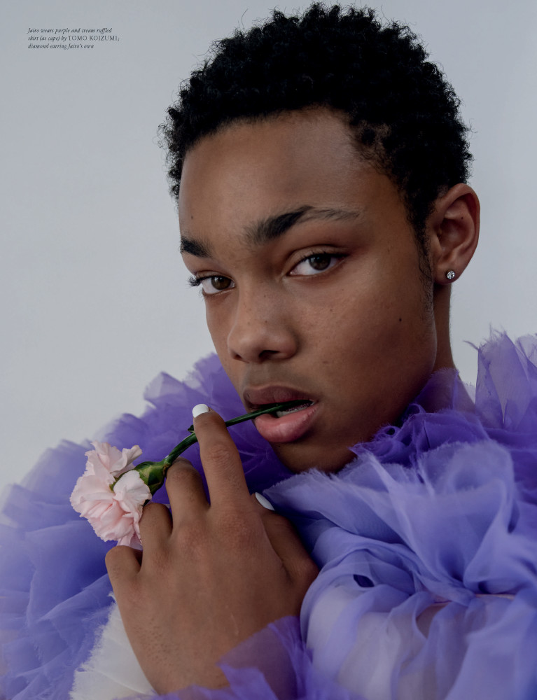 New Face Jairo Bierling for LOVE Magazine Photographed Tim Walker
