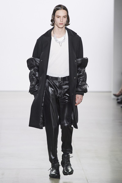 New Face Huug N. walks for Asian Fashion Collection FW20 Runway Show in N.Y.