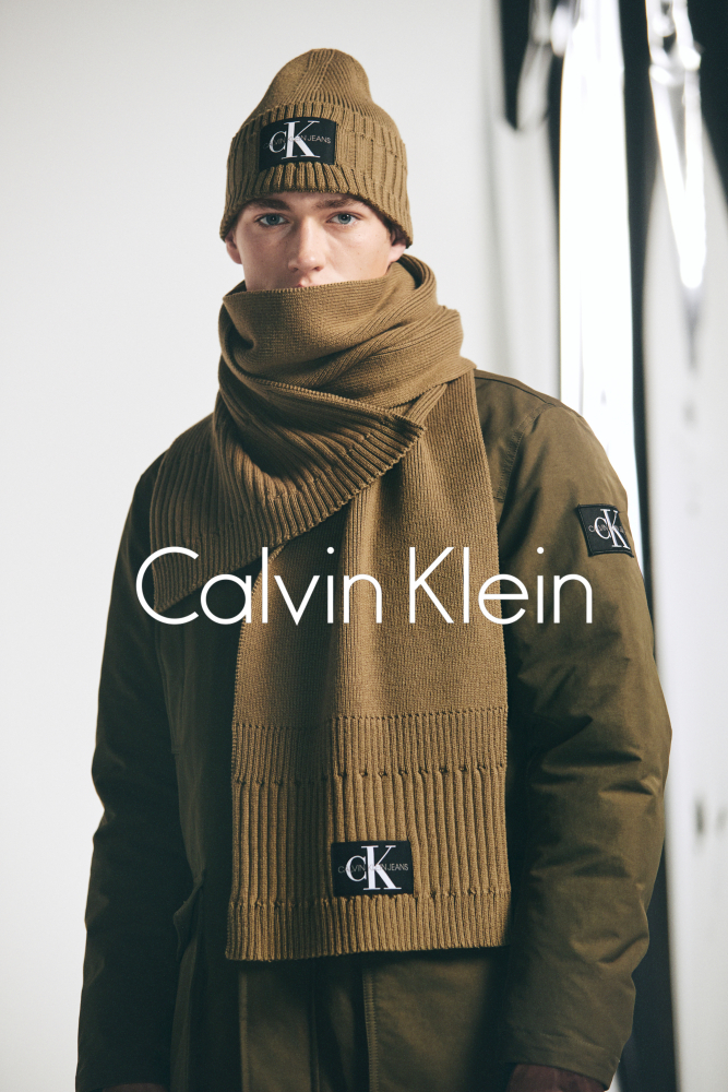Valentin Humbroich for Calvin Klein Holiday Campaign