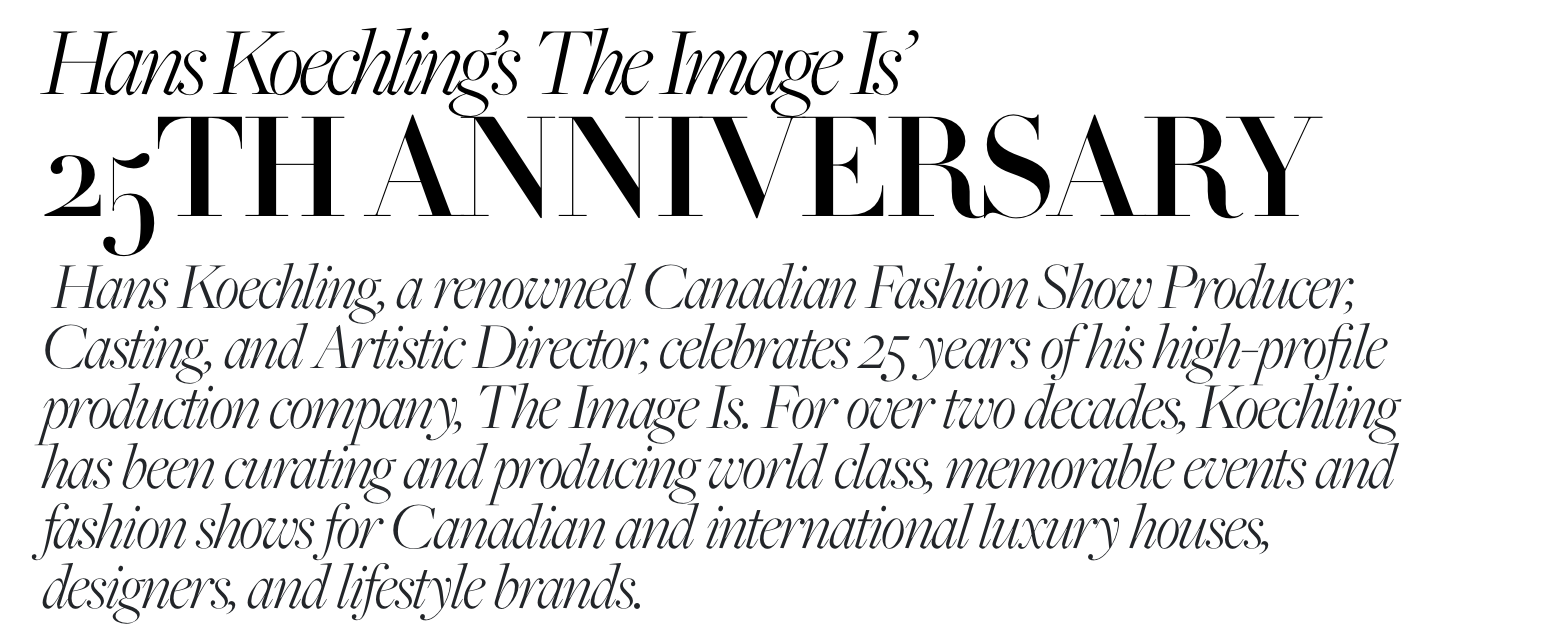 SPOTTED: THE IMAGE IS // 25th ANNIVERSARY