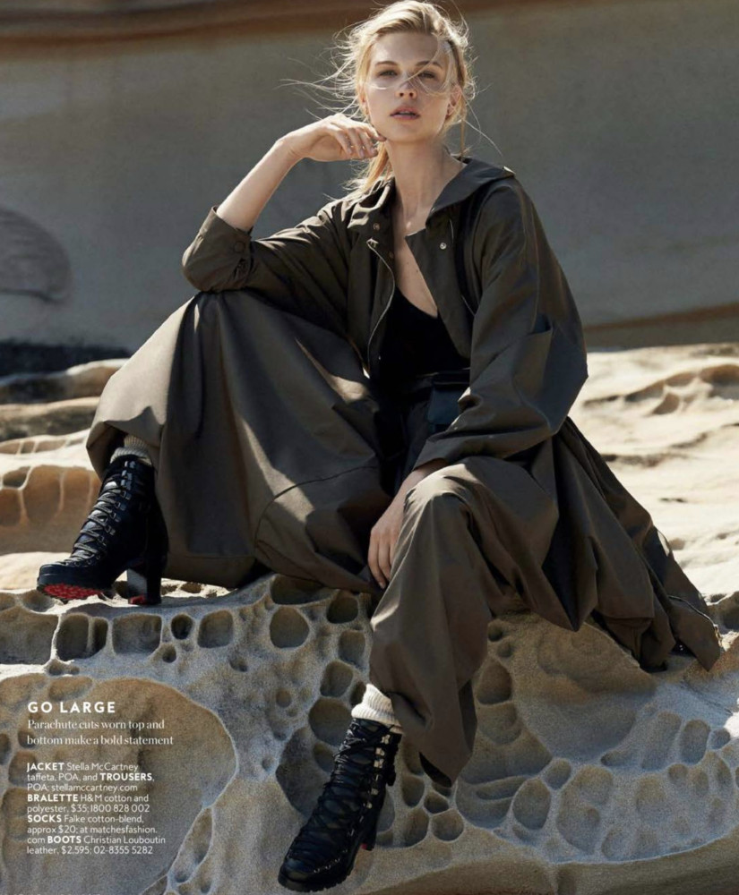 SPOTTED: AMANDA FOR IN STYLE AUSTRALIA