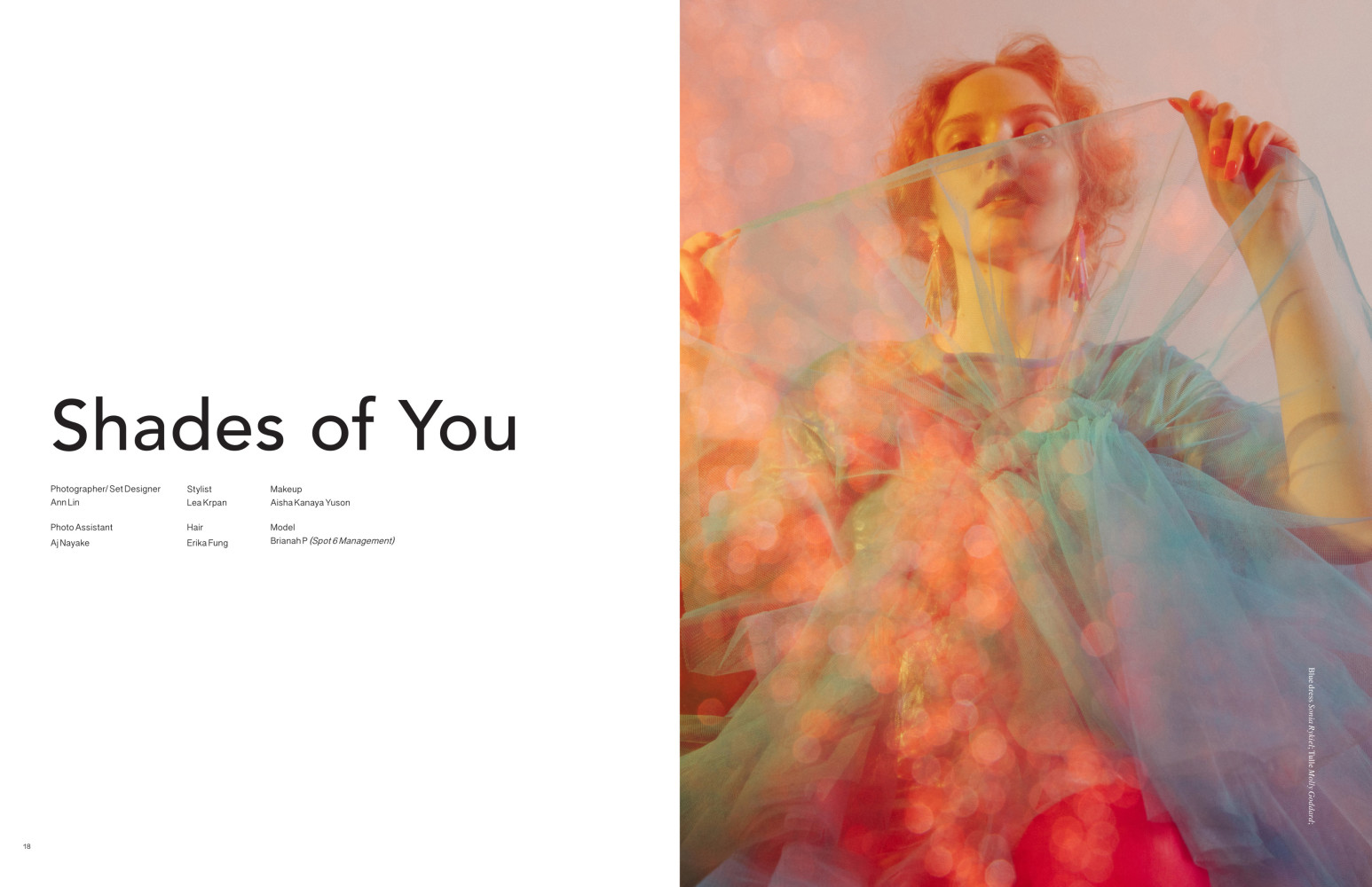 SPOTTED: SHADES OF YOU // BRIANAH FOR FLANELLE MAGAZINE