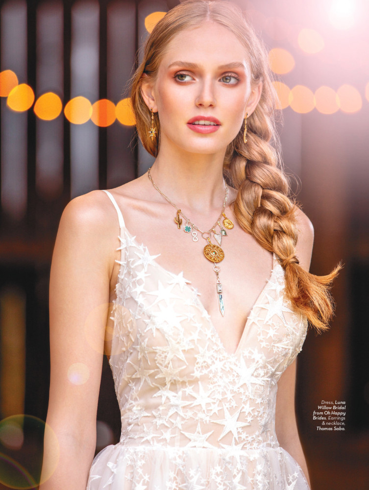 SPOTTED: TRUE BLISS // BRIANAH FOR WEDDING BELLS MAGAZINE