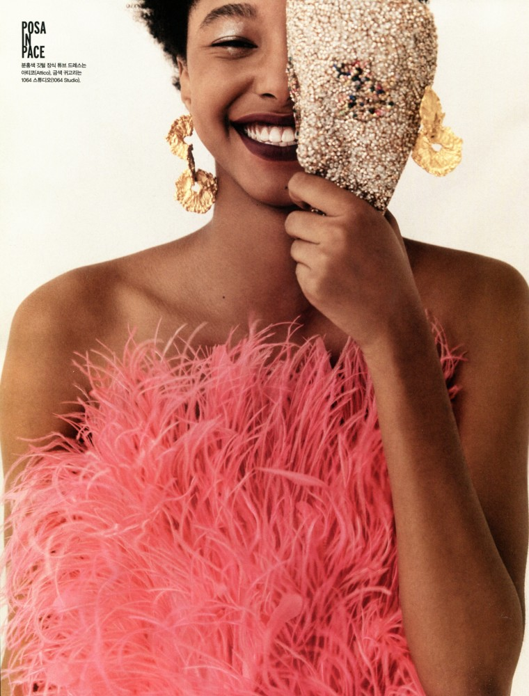 SPOTTED: THE UN-MASKING // MALIYAH FOR VOGUE KOREA