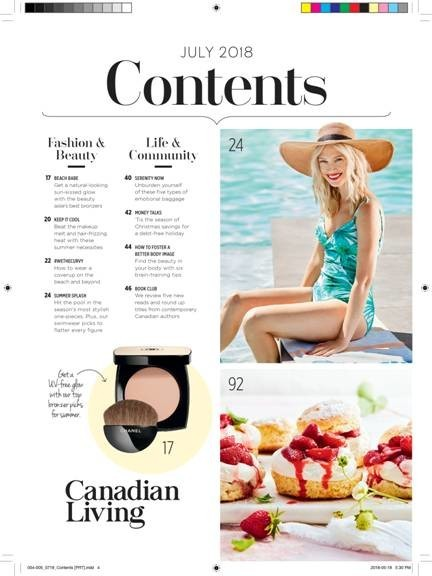 SPOTTED: TARINA FOR CANADIAN LIVING