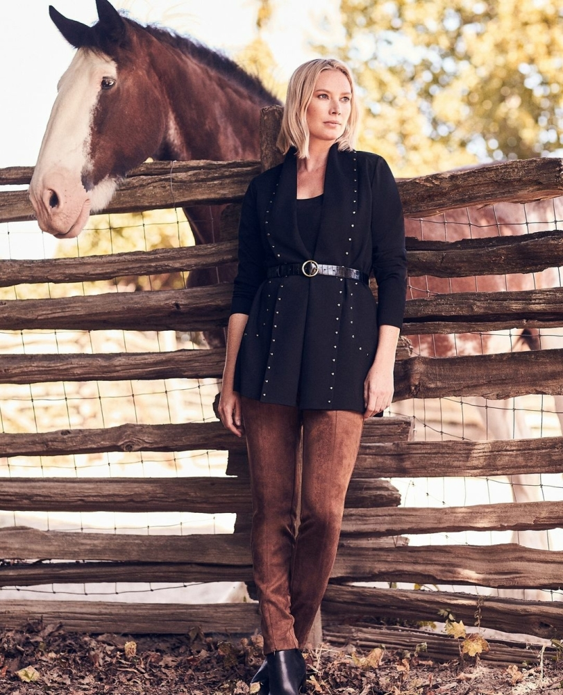 SPOTTED: TARINA FOR LAURA CANADA // COZY UP FOR FALL