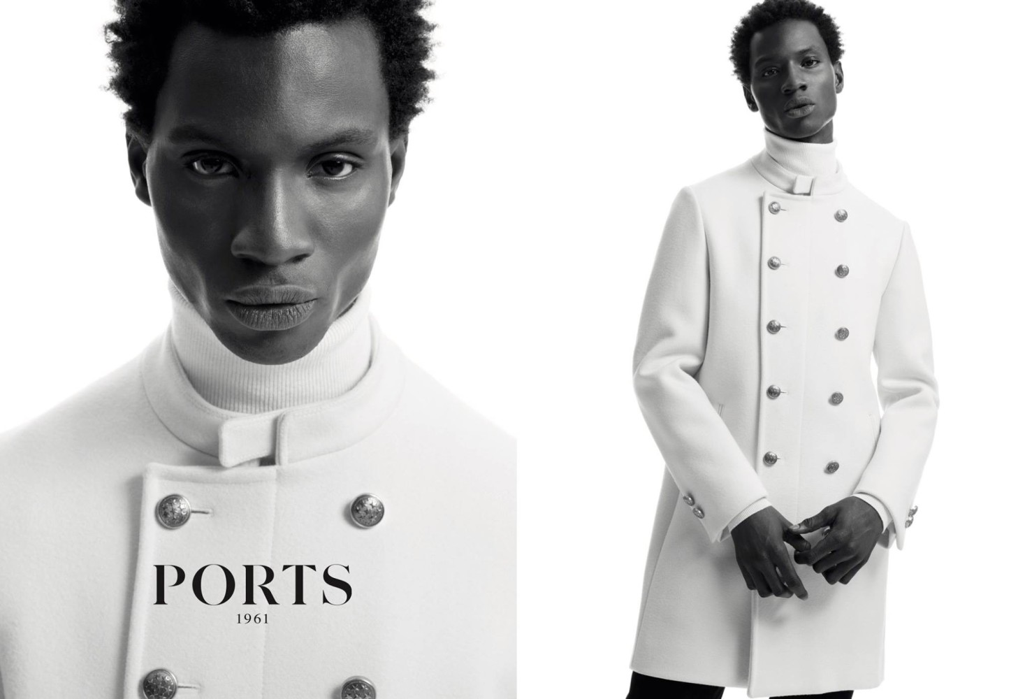 SPOTTED: Adonis for Ports 1961 Fall/Winter 2016 Campaign