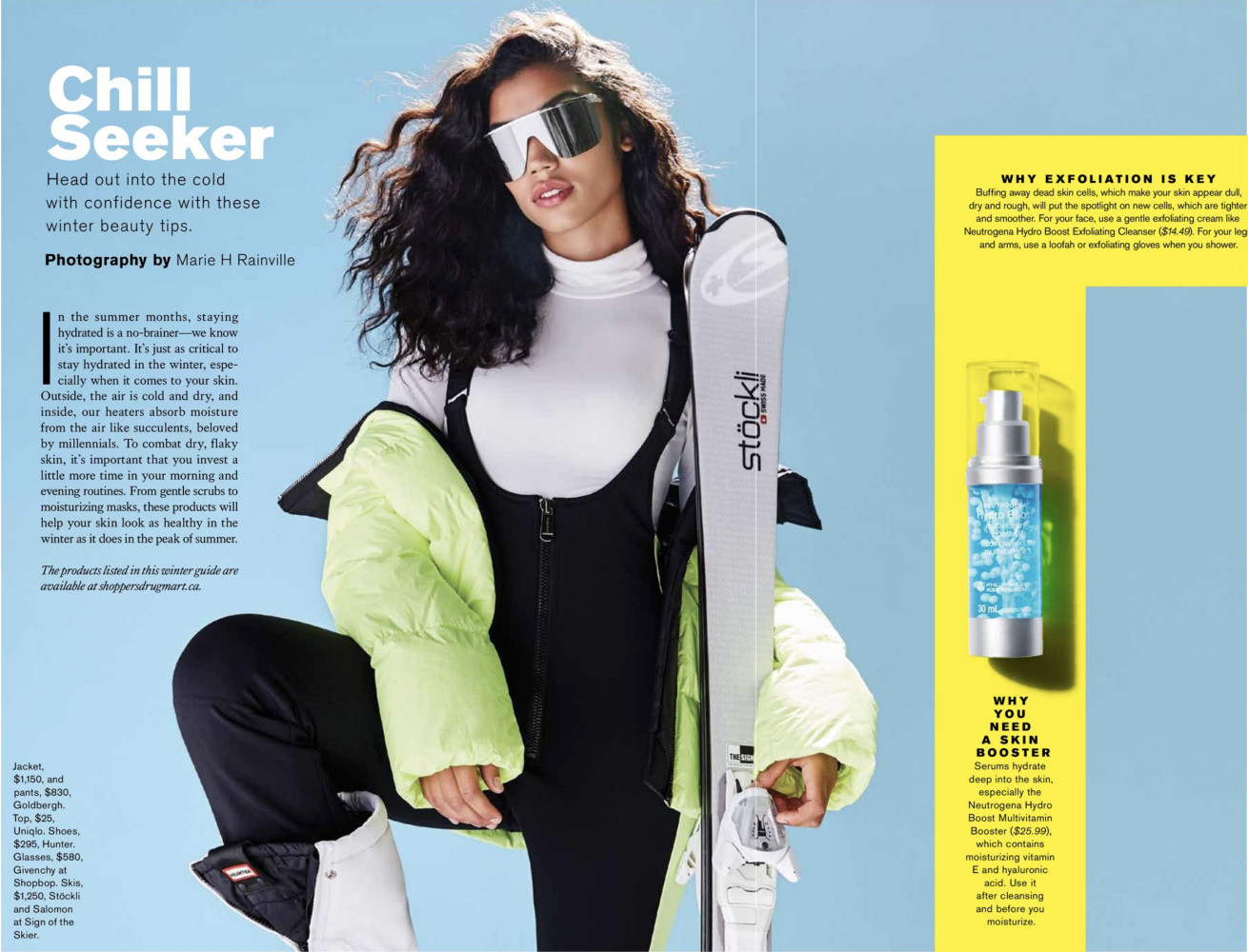 SPOTTED: CHILL SEEKER // FELICIA FOR TORONTO FASHION MAGAZINE