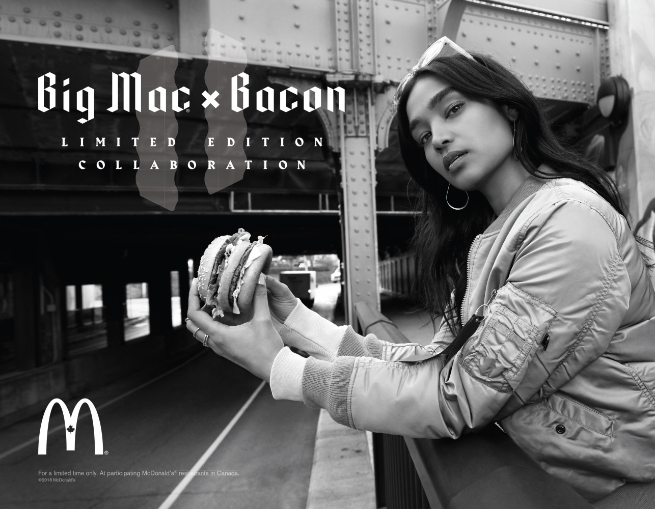 SPOTTED: Shivani for McDonalds Big Mac X Bacon