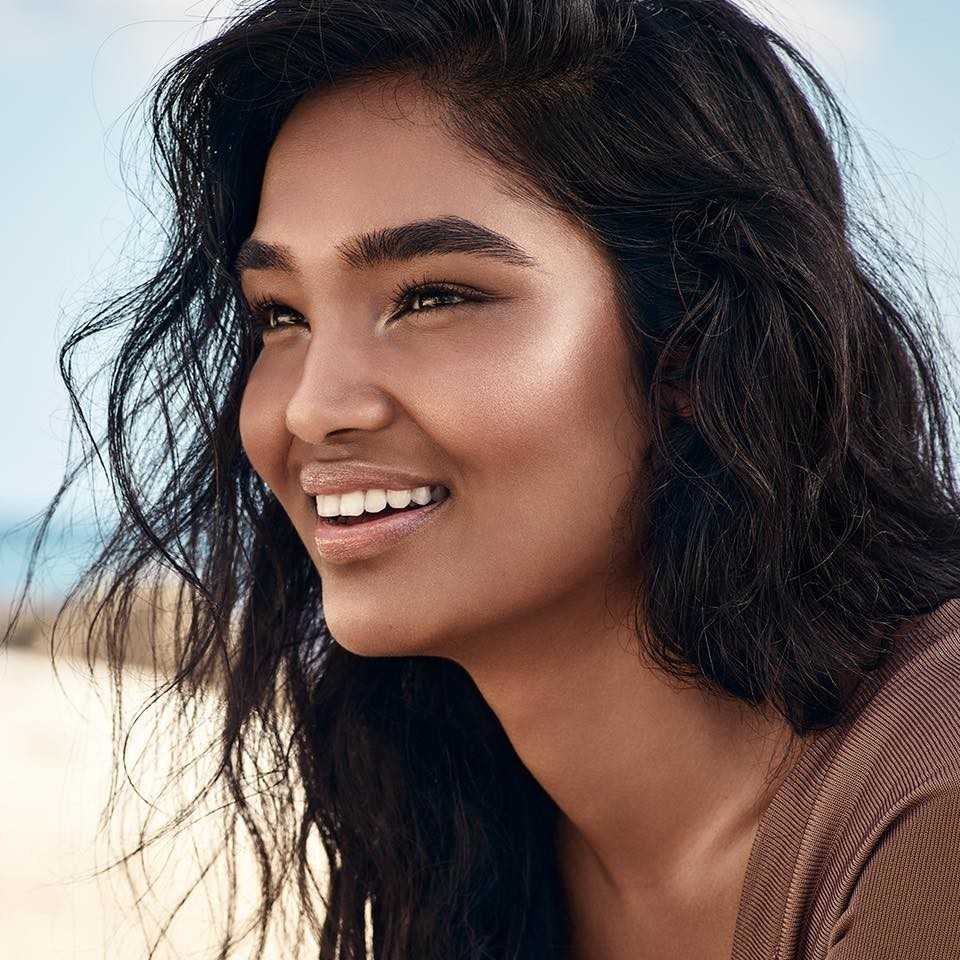 SPOTTED: Shivani for Becca Cosmetics