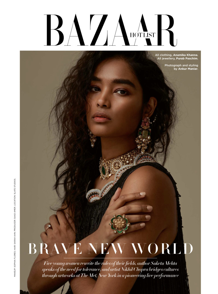 SPOTTED: BOW DOWN // SHIVANI FOR HARPER'S BAZAAR INDIA