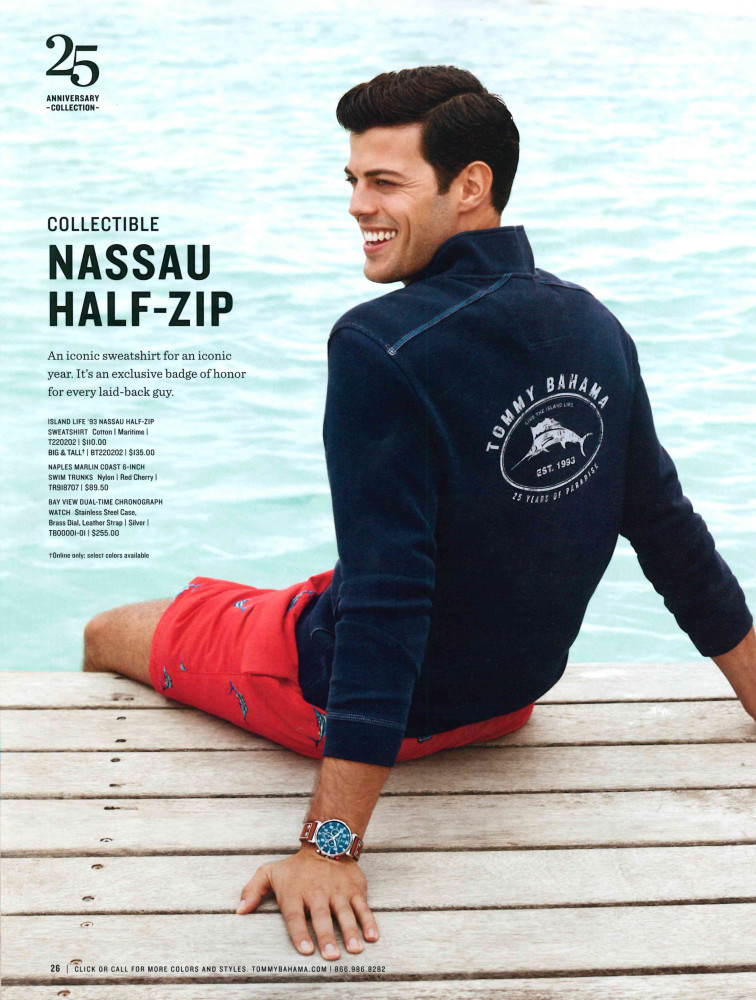 SPOTTED: Felix for Tommy Bahama