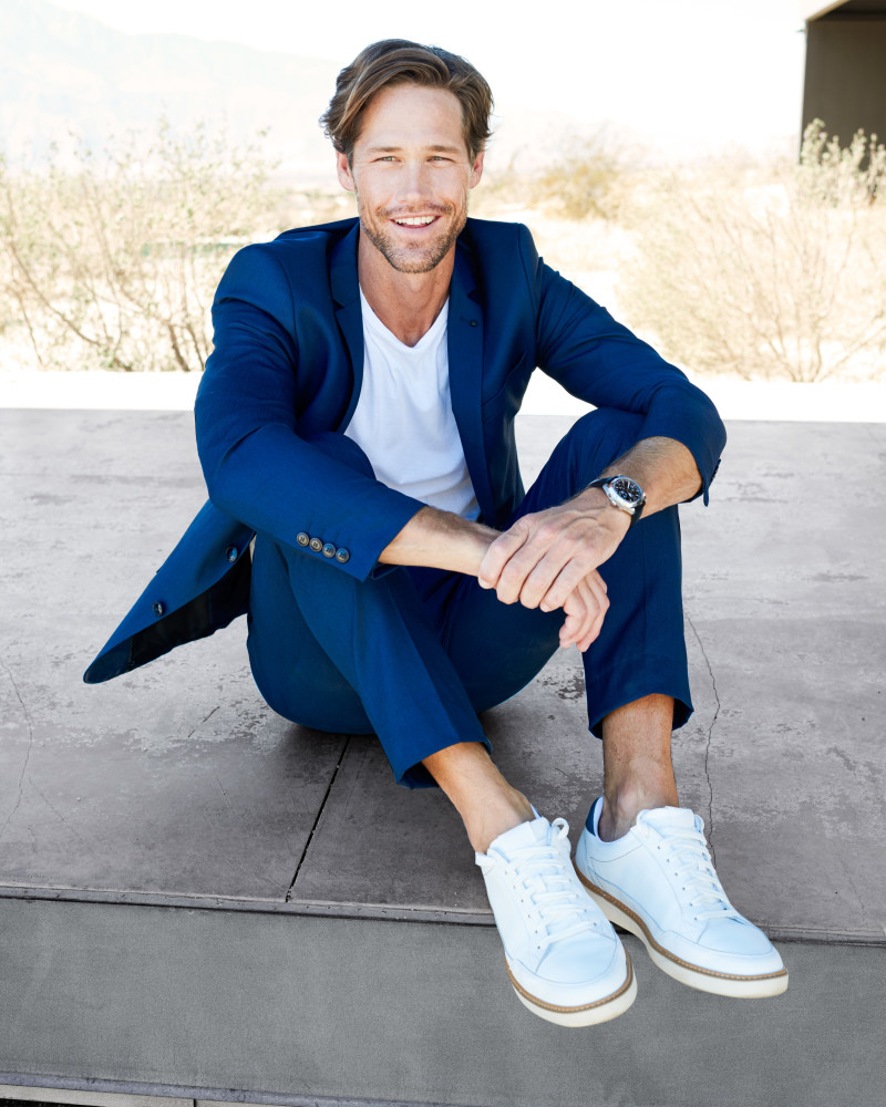 SPOTTED: CHAD IS OH SO DAPPER FOR BROOKS BROTHERS