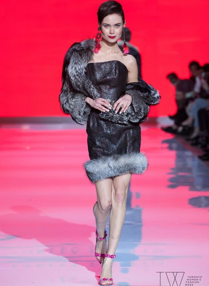 SPOTTED: Anastasiya for Farley Chatto @ TWFW