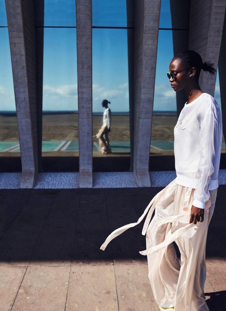 SPOTTED: Riley Montana for Harper's Bazaar Germany