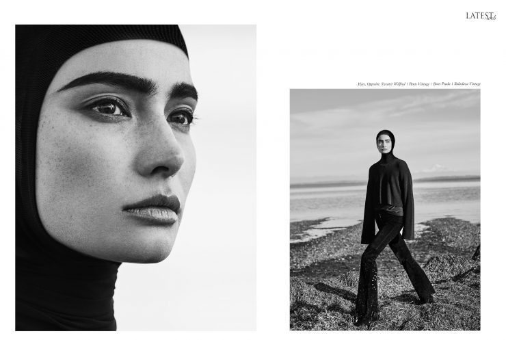 SPOTTED: THE CALM BEFORE THE STORM // MACKENZIE HAMILTON FOR THE LATEST MAGAZINE