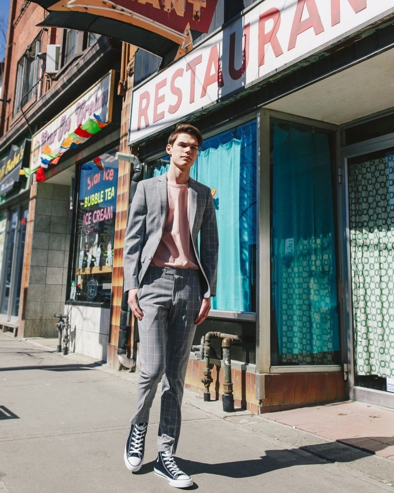 SPOTTED:  FINAL EXAMS ARE COMING // JORDAN D. FOR HUDSON BAY MEN