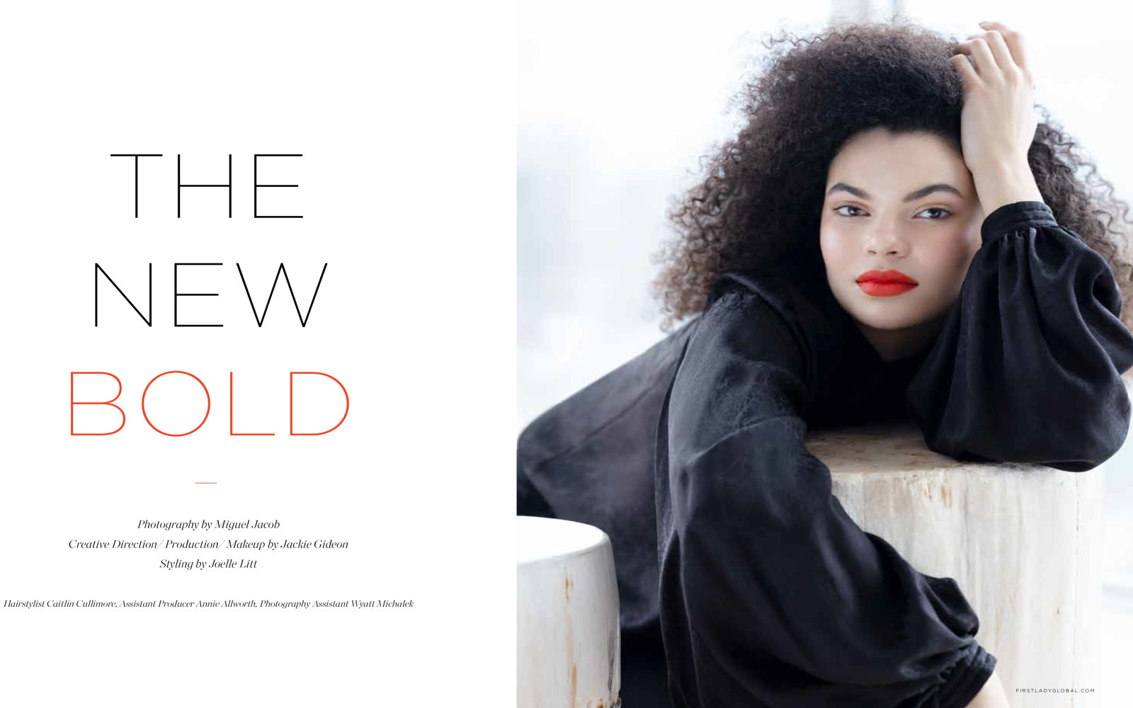 SPOTTED: IT'S ALL ABOUT // TYRAH FOR FIRST LADY MAGAZINE