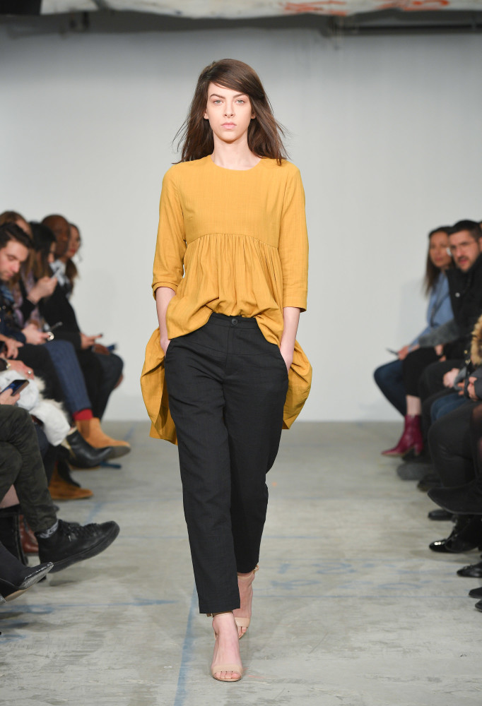 SPOTTED: Garnet for House of Nonie @ TFW