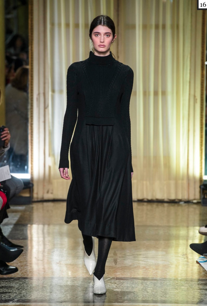 SPOTTED: Emily Reda for Maryling @ MFW
