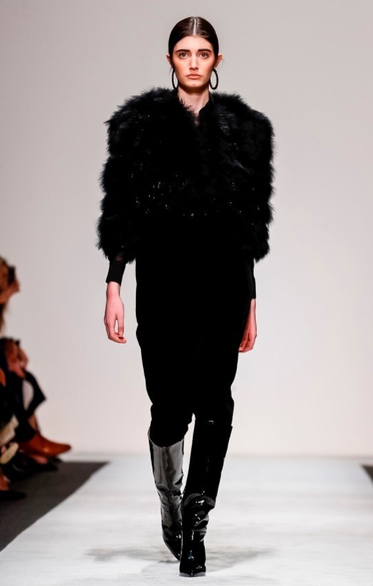 SPOTTED: Emily Reda for Laura Biagiotti @ MFW