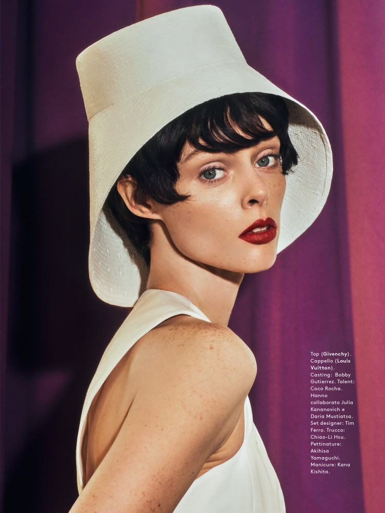 SPOTTED: DIFENDO // COCO ROCHA FOR GRAZIA MAGAZINE