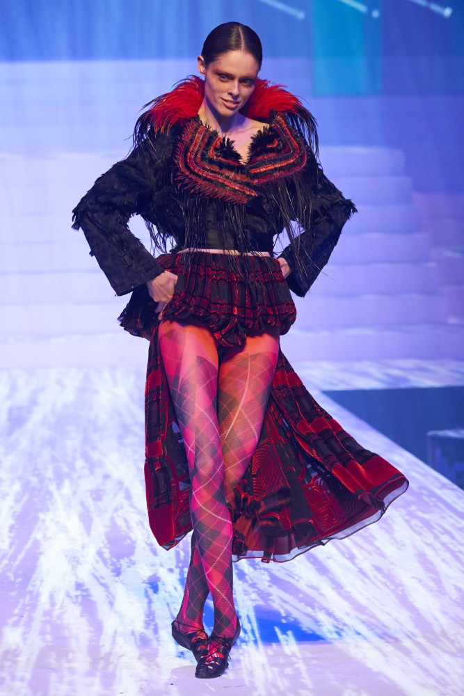 SPOTTED: HELLO MR.GAULTIER //COCO ROCHA FOR JOHN PAUL GAULTIER SS 20 COUTURE