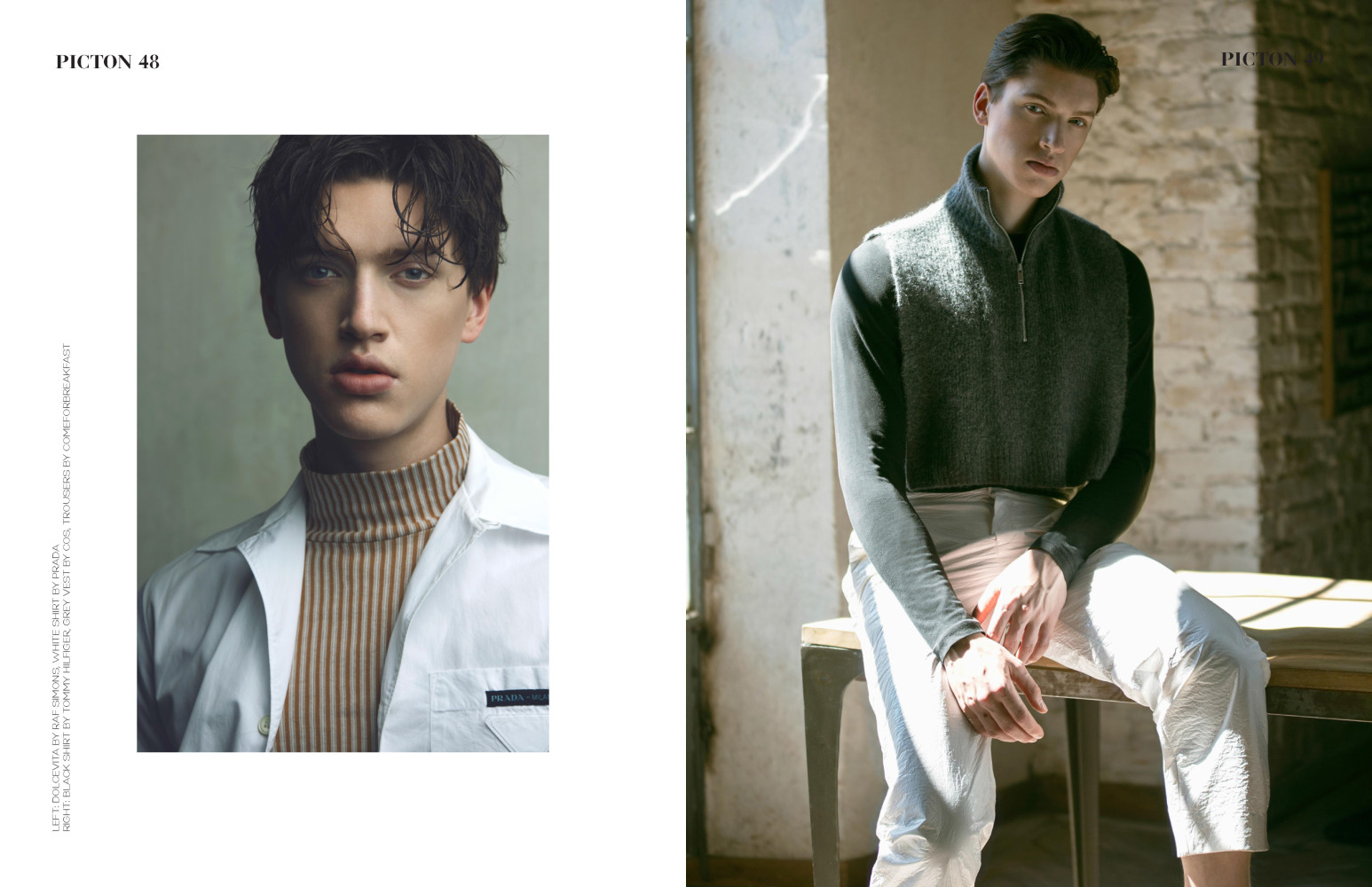 SPOTTED: COOL FOR THE SUMMER  // WILLEM FOR MAURO MATAL
