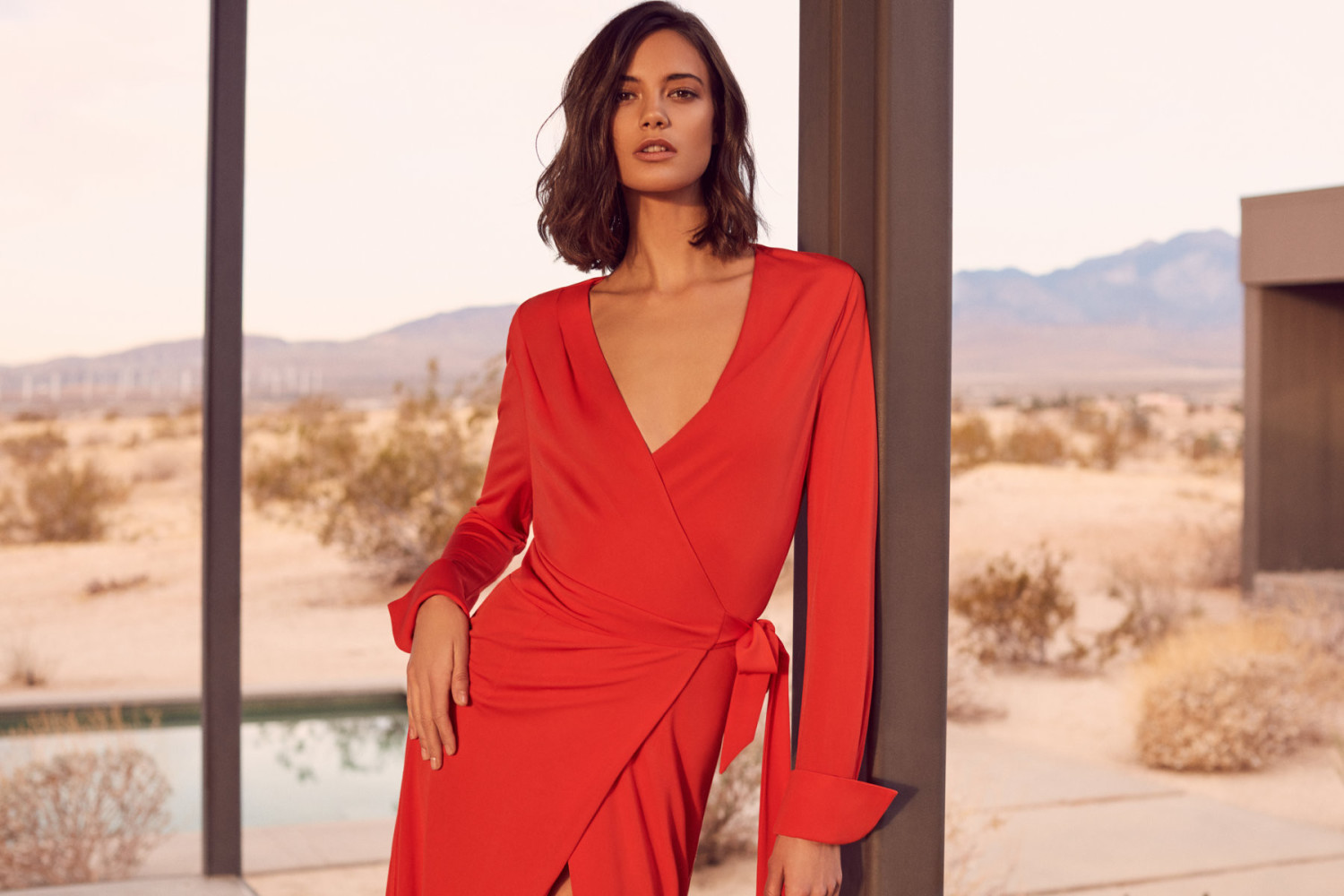 SPOTTED: ANJA FOR REISS S/S18