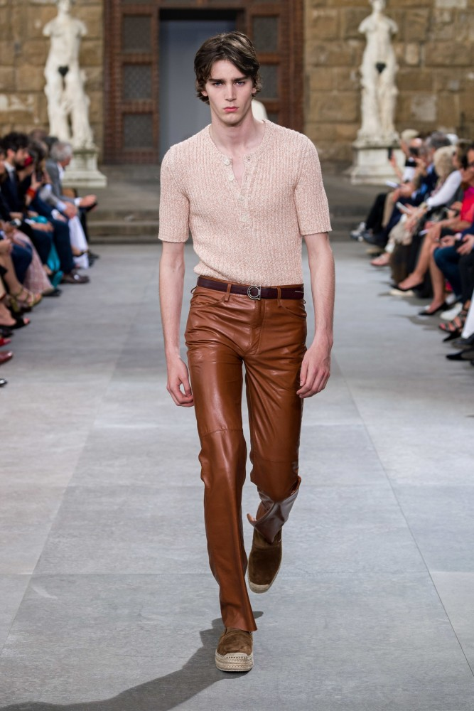 SPOTTED: MITCHELL G. FOR FERRAGAMO SS/20