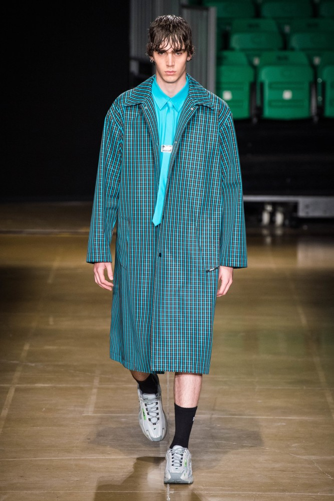 SPOTTED: MITCHELL G. FOR MSGM SS/20