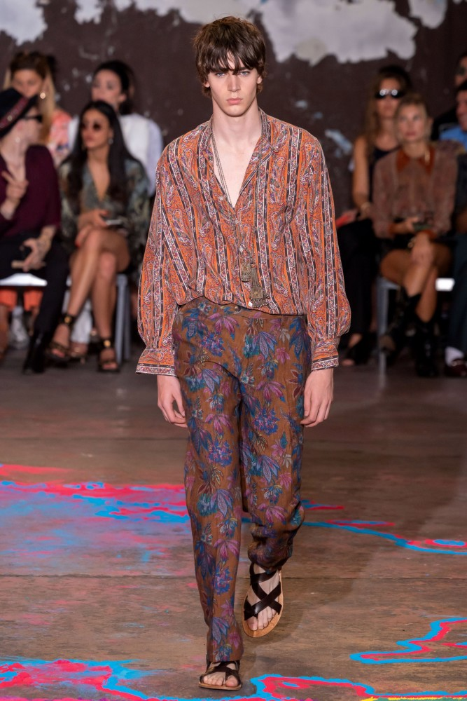 SPOTTED: MITCHELL G. FOR ETRO SS/20