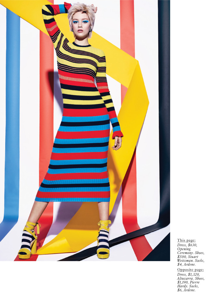 SPOTTED: STRIPE FORCE - FARRAH FOR FASHION MAGAZINE