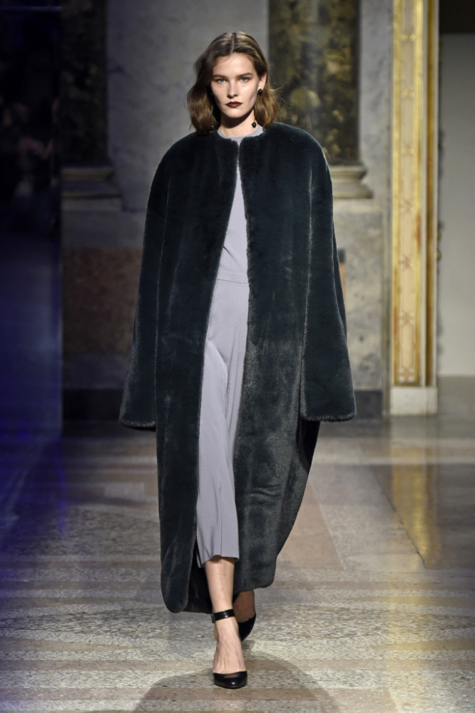 SPOTTED: Magdalena for Anteprima @ MFW