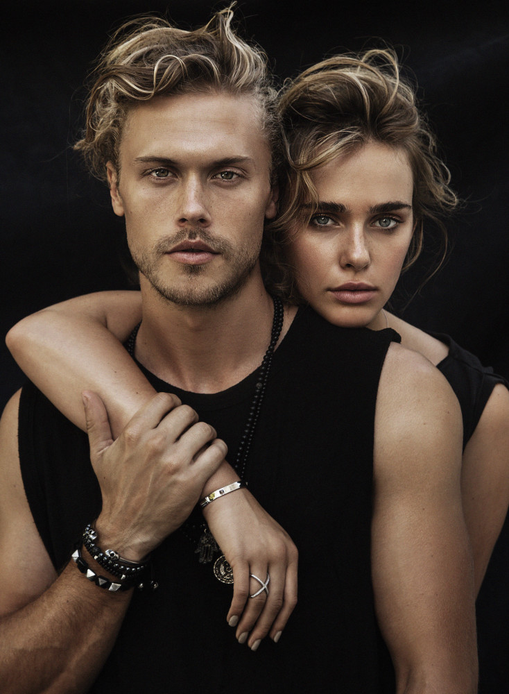 SPOTTED: Lyzy and Christopher Mason for Nialaya Jewelry