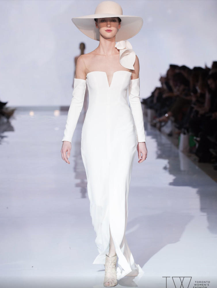 SPOTTED: Mikayla for Di Carlo Couture @ TWFW