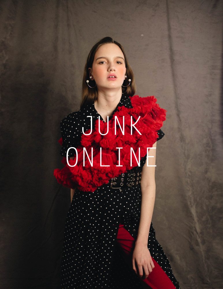 SPOTTED: Sophie for Junk Magazine