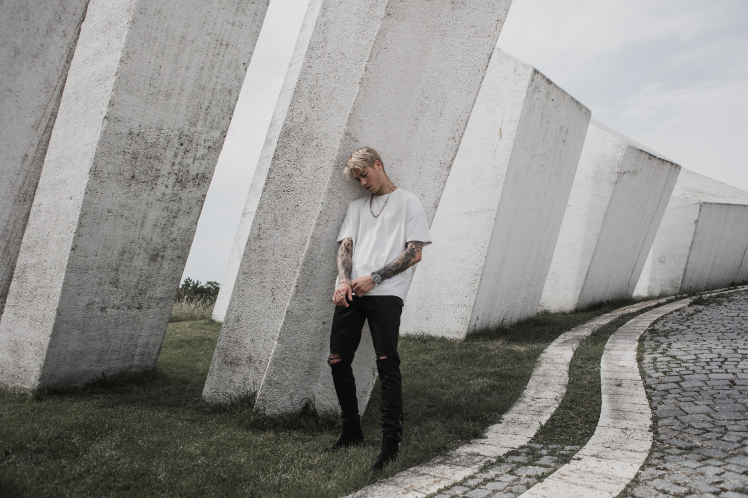 SPOTTED: MITCH P IS VOID FOR  VITALY FW 18 CAMPAIGN