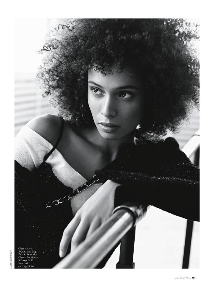 SPOTTED: Bianca Gittens for Australian Vogue