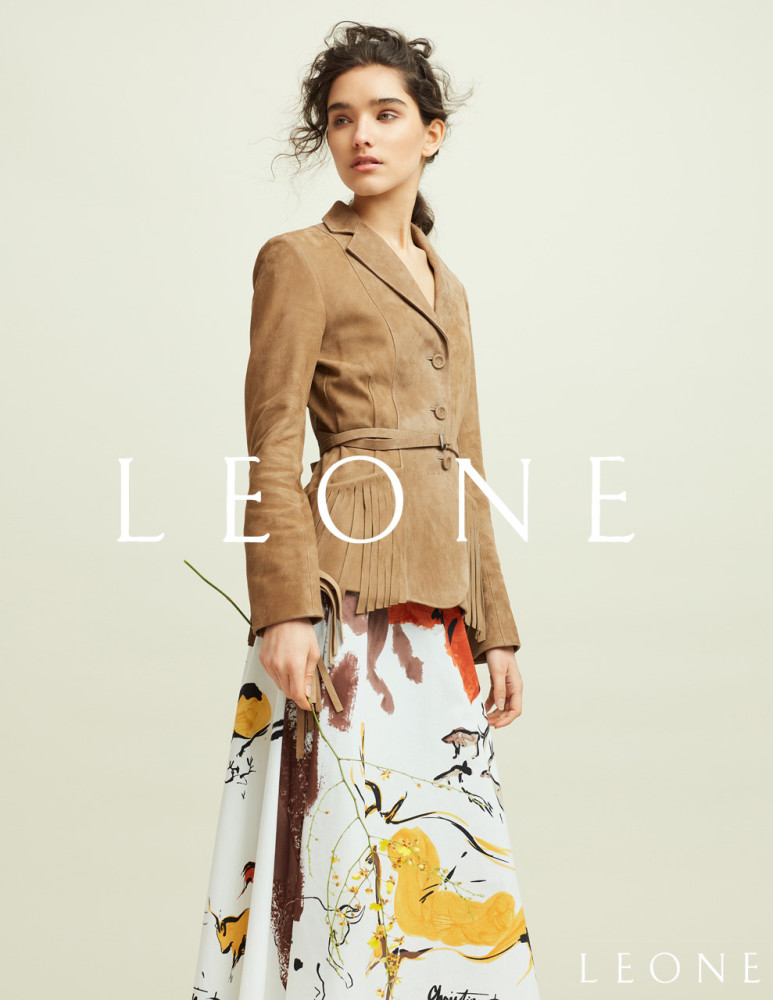 SPOTTED: COVER IN PRADA |  KENNEDY FOR LEONE