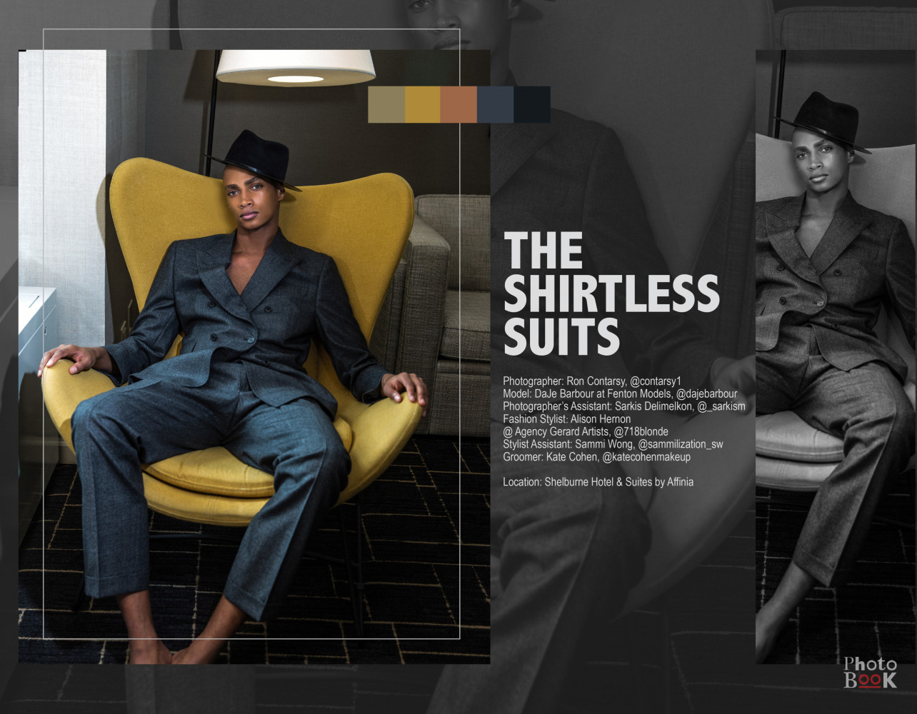 SPOTTED: THE SHIRTLESS SUITS // DAJE FOR PHOTOBOOK MAGAZINE